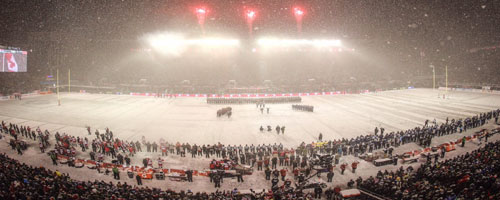 Grey Cup on Ice